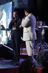 حسن ریوندی در کنار حسین ریوندی